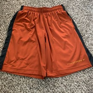 Men's Nike Livestrong Athletic Shorts - Small